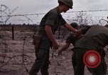 Image of United States officer Vietnam Bien Hoa Air Base, 1968, second 13 stock footage video 65675052304