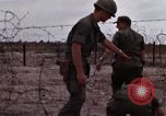 Image of United States officer Vietnam Bien Hoa Air Base, 1968, second 14 stock footage video 65675052304