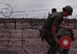 Image of United States officer Vietnam Bien Hoa Air Base, 1968, second 15 stock footage video 65675052304
