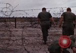Image of United States officer Vietnam Bien Hoa Air Base, 1968, second 16 stock footage video 65675052304