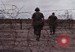 Image of United States officer Vietnam Bien Hoa Air Base, 1968, second 21 stock footage video 65675052304