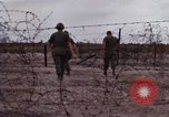 Image of United States officer Vietnam Bien Hoa Air Base, 1968, second 23 stock footage video 65675052304