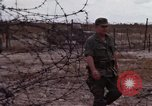 Image of United States officer Vietnam Bien Hoa Air Base, 1968, second 33 stock footage video 65675052304