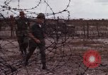 Image of United States officer Vietnam Bien Hoa Air Base, 1968, second 36 stock footage video 65675052304