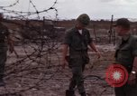 Image of United States officer Vietnam Bien Hoa Air Base, 1968, second 38 stock footage video 65675052304
