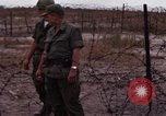 Image of United States officer Vietnam Bien Hoa Air Base, 1968, second 41 stock footage video 65675052304
