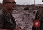 Image of United States officer Vietnam Bien Hoa Air Base, 1968, second 43 stock footage video 65675052304