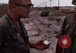 Image of United States officer Vietnam Bien Hoa Air Base, 1968, second 45 stock footage video 65675052304