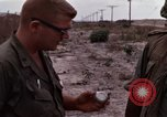 Image of United States officer Vietnam Bien Hoa Air Base, 1968, second 47 stock footage video 65675052304