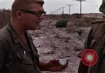 Image of United States officer Vietnam Bien Hoa Air Base, 1968, second 48 stock footage video 65675052304