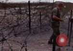 Image of United States officer Vietnam Bien Hoa Air Base, 1968, second 55 stock footage video 65675052304