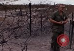 Image of United States officer Vietnam Bien Hoa Air Base, 1968, second 58 stock footage video 65675052304