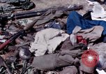 Image of dead bodies of Vietcong Vietnam, 1968, second 28 stock footage video 65675052308