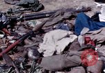 Image of dead bodies of Vietcong Vietnam, 1968, second 29 stock footage video 65675052308