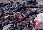 Image of dead bodies of Vietcong Vietnam, 1968, second 36 stock footage video 65675052308