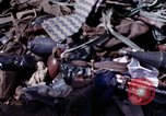 Image of dead bodies of Vietcong Vietnam, 1968, second 49 stock footage video 65675052308