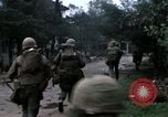 Image of H Company 2nd Battalion 5th Marines Hue Vietnam, 1968, second 34 stock footage video 65675052334