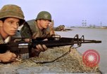 Image of United States troops Saigon Vietnam, 1968, second 15 stock footage video 65675052342