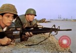 Image of United States troops Saigon Vietnam, 1968, second 16 stock footage video 65675052342