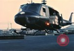 Image of United States personnel Saigon Vietnam Tan Son Nhut Air Base, 1968, second 5 stock footage video 65675052343
