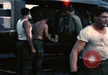 Image of United States personnel Saigon Vietnam Tan Son Nhut Air Base, 1968, second 27 stock footage video 65675052343