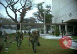 Image of The Tet Offensive attack on the US Embassy in Saigon Saigon Vietnam, 1968, second 23 stock footage video 65675052353