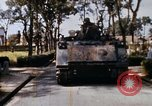 Image of 1st Infantry Division soldiers Saigon Vietnam, 1968, second 12 stock footage video 65675052374