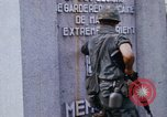 Image of 1st Infantry Division soldiers Saigon Vietnam, 1968, second 25 stock footage video 65675052374