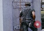 Image of 1st Infantry Division soldiers Saigon Vietnam, 1968, second 30 stock footage video 65675052374