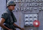 Image of 1st Infantry Division soldiers Saigon Vietnam, 1968, second 32 stock footage video 65675052374