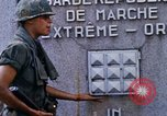 Image of 1st Infantry Division soldiers Saigon Vietnam, 1968, second 33 stock footage video 65675052374
