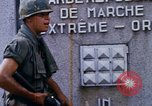 Image of 1st Infantry Division soldiers Saigon Vietnam, 1968, second 34 stock footage video 65675052374