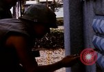 Image of 1st Infantry Division soldiers Saigon Vietnam, 1968, second 54 stock footage video 65675052374