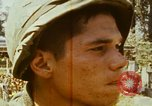 Image of 1st Infantry Division soldiers Saigon Vietnam, 1968, second 60 stock footage video 65675052374