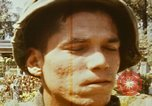 Image of 1st Infantry Division soldiers Saigon Vietnam, 1968, second 62 stock footage video 65675052374