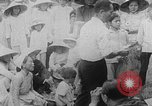 Image of funeral procession for hundreds of coffin Hue Vietnam, 1968, second 15 stock footage video 65675052391