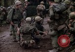 Image of marines of L Company Hue Vietnam, 1968, second 33 stock footage video 65675052397