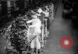 Image of Women war production workers at Douglas Aircraft Factory during World  Long Beach California USA, 1942, second 1 stock footage video 65675052405
