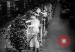 Image of Women war production workers at Douglas Aircraft Factory during World  Long Beach California USA, 1942, second 7 stock footage video 65675052405