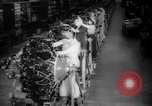 Image of Women war production workers at Douglas Aircraft Factory during World  Long Beach California USA, 1942, second 8 stock footage video 65675052405