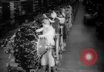 Image of Women war production workers at Douglas Aircraft Factory during World  Long Beach California USA, 1942, second 12 stock footage video 65675052405