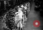 Image of Women war production workers at Douglas Aircraft Factory during World  Long Beach California USA, 1942, second 13 stock footage video 65675052405