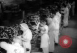Image of Women war production workers at Douglas Aircraft Factory during World  Long Beach California USA, 1942, second 15 stock footage video 65675052405
