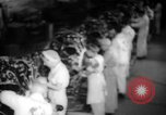Image of Women war production workers at Douglas Aircraft Factory during World  Long Beach California USA, 1942, second 16 stock footage video 65675052405