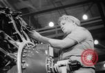 Image of Women war production workers at Douglas Aircraft Factory during World  Long Beach California USA, 1942, second 38 stock footage video 65675052405