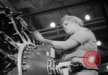 Image of Women war production workers at Douglas Aircraft Factory during World  Long Beach California USA, 1942, second 39 stock footage video 65675052405