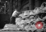 Image of Women war production workers at Douglas Aircraft Factory during World  Long Beach California USA, 1942, second 62 stock footage video 65675052405