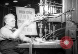 Image of war production workers at aircraft factory Long Beach California USA, 1942, second 6 stock footage video 65675052407
