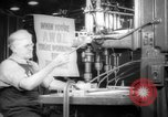 Image of war production workers at aircraft factory Long Beach California USA, 1942, second 7 stock footage video 65675052407