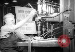 Image of war production workers at aircraft factory Long Beach California USA, 1942, second 13 stock footage video 65675052407